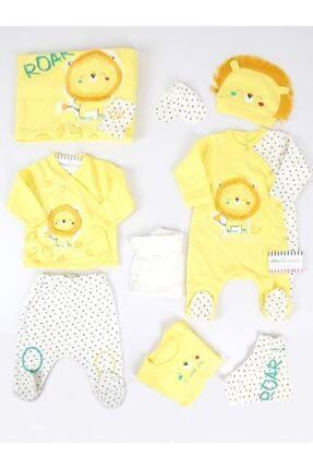 İmaj Erkek Bebek Sarı Uykucu Aslanlı 10'lu