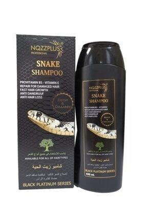 NQZZPLUS Nozzplus Yılan Yağı Şampuanı Biotin & Collegen