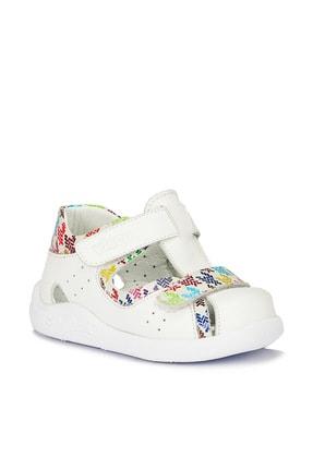 Vicco Kız Bebek Beyaz Toby İlk Adım Günlük Ayakkabı