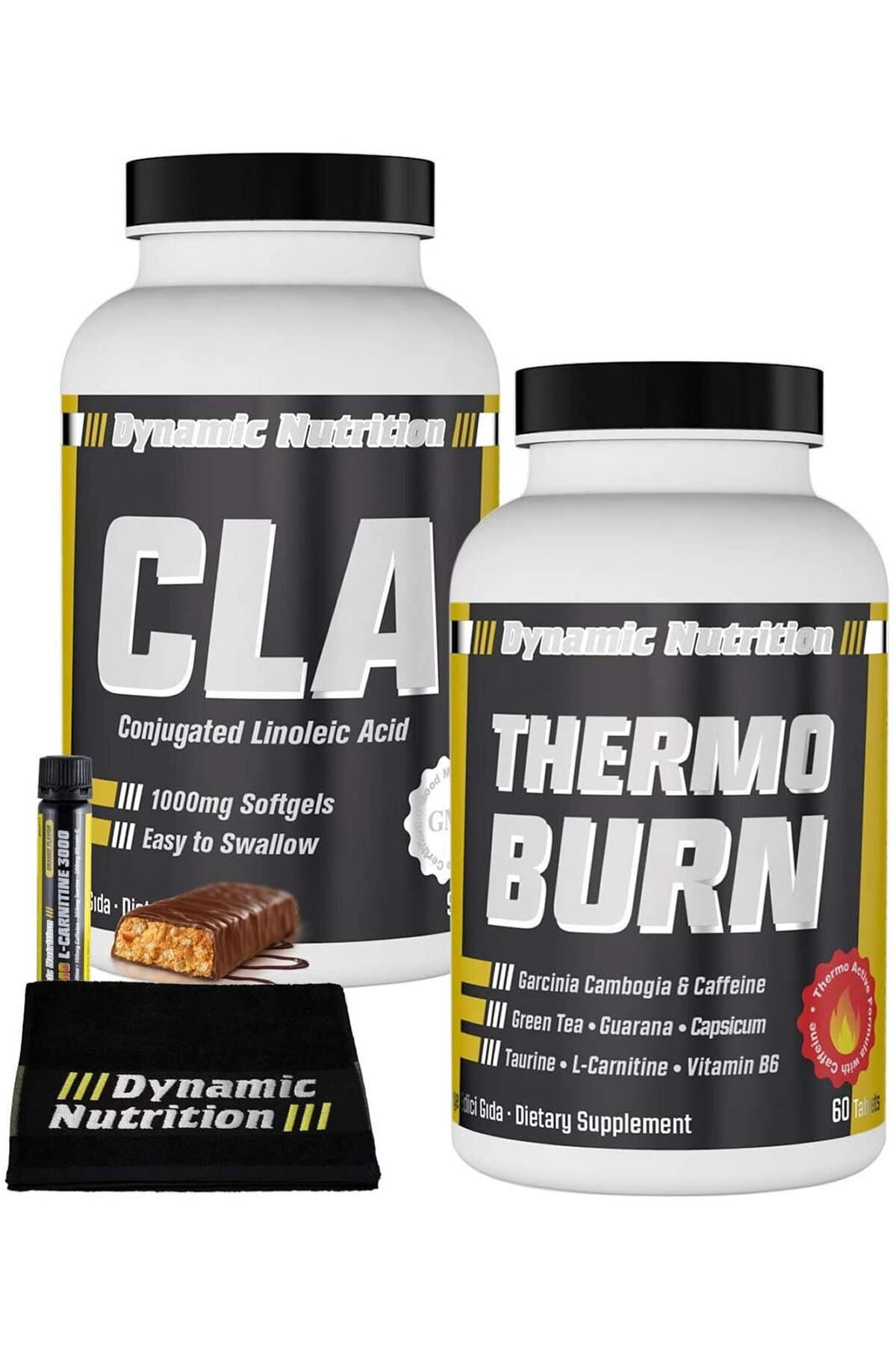 Dynamic Nutrition Dynamic CLA 90 Kapsül + Thermo Burn 60 Tablet + 3 HEDİYE 1