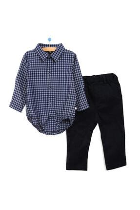 For My Baby Kış Erkek Bebek Gömlek-pantolon