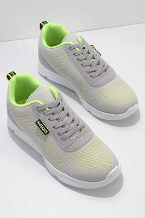 Bambi Gri Kadın Sneaker K01654075682