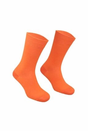 ekolpazar Pro Rainbow Penye Çorap | Turuncu