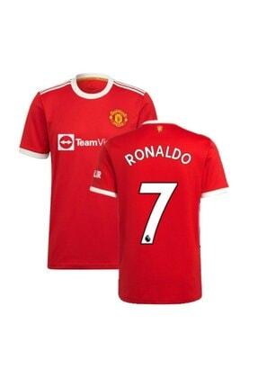 Pasxaspor Manchester United 2021/22 Yeni Sezon Ronaldo Kırmızı Ev Sahibi Forması