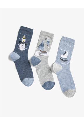 Koton Yılbaşı Kadın Çorap Seti