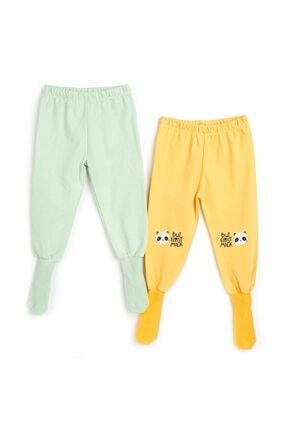 HelloBaby 2li Çoraplı Pijama Pantolon