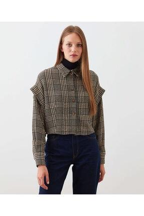 İpekyol Crop Oversize Gömlek