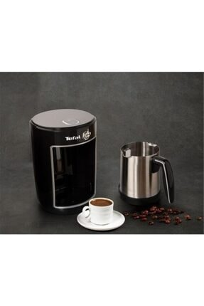 TEFAL Cm8308tr Köpüklüm Pro Çelik Türk Kahvesi Makinesi [ Siyah ]