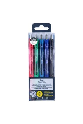 Serve Xberry Jel Kalem 0.5mm Iğne Uç 5 Renk Set A