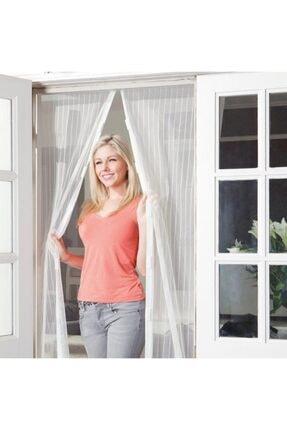 rennway Pratik Manyetik Mıknatıslı Beyaz Kapı Pencere Sinekliği Tülü 90 X 210 Cm