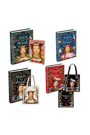 Ephesus Yayınları Yeşilin Kızı Anne Seti 4 Kitap Ciltli (2 Bez Çanta Ve Defter Hediyeli)