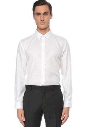 Network Erkek Beyaz Gömlek 1075287