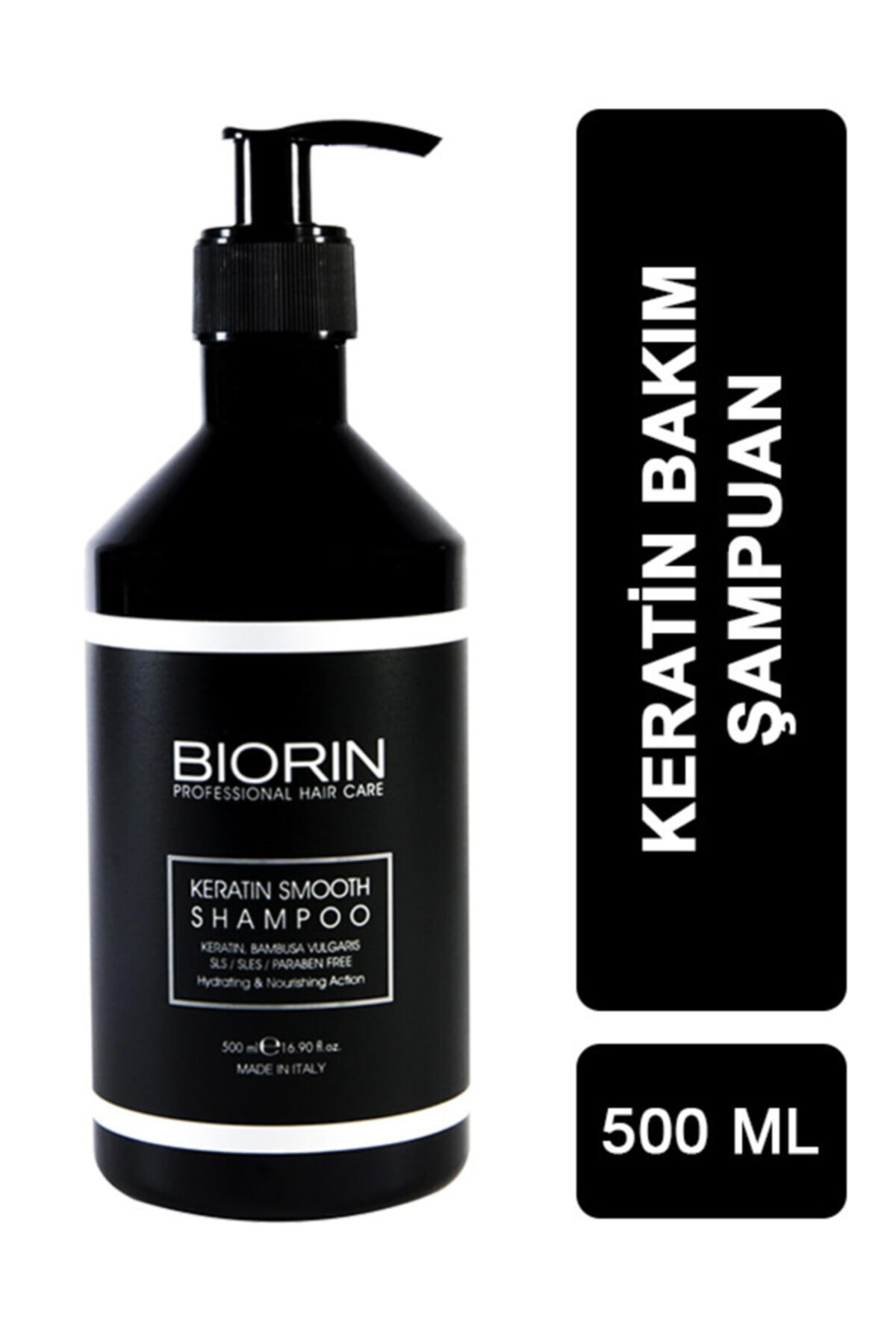 Biorin Keratin Smooth Shampoo 500 Ml 1