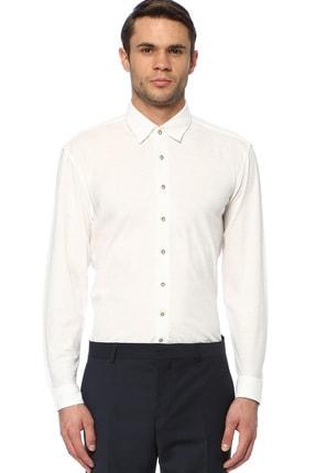 Network Erkek Beyaz Gömlek 1074029