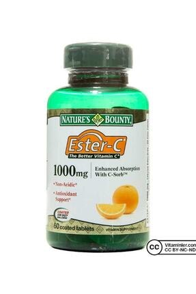 Nature's Bounty Ester-c 1000 Mg 60 Tabet