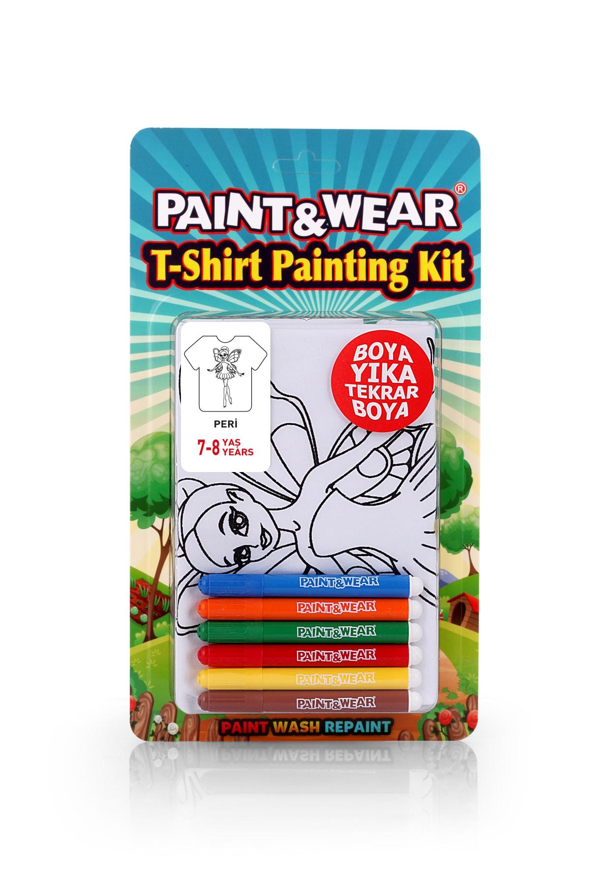 paint-wear Peri Boyama T-shirt 7-8 Yaş 1