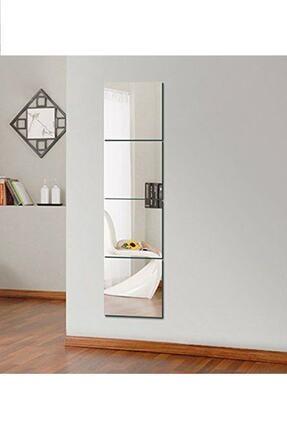 bluecape Antre Hol Koridor Duvar Salon Mutfak Banyo Wc Ofis Çocuk Yatak Odası Set Ayna 4 Parça 30x30cm