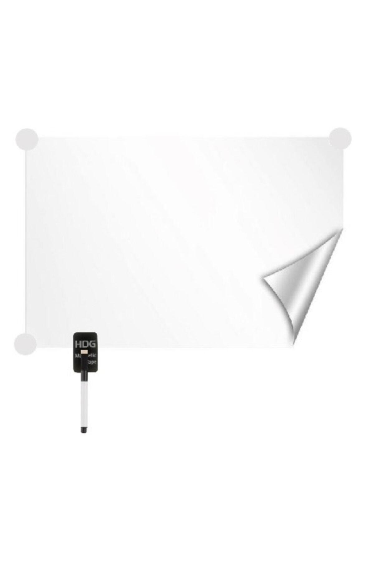 Hdg 2 Adet Kağıt Yazı Tahtası Kağıdı Folyosu 75x100 Cm Beyaz- Statik Kendinden Tutunmalı 1
