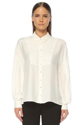 Network Kadın Ekru Gömlek 1076352