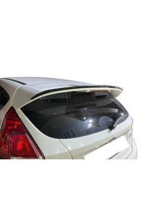 ŞüsCarOto Ford Fiesta 2007 Sonrası Bagaj Üstü Spoiler Bagaj Çıtası Piano Black