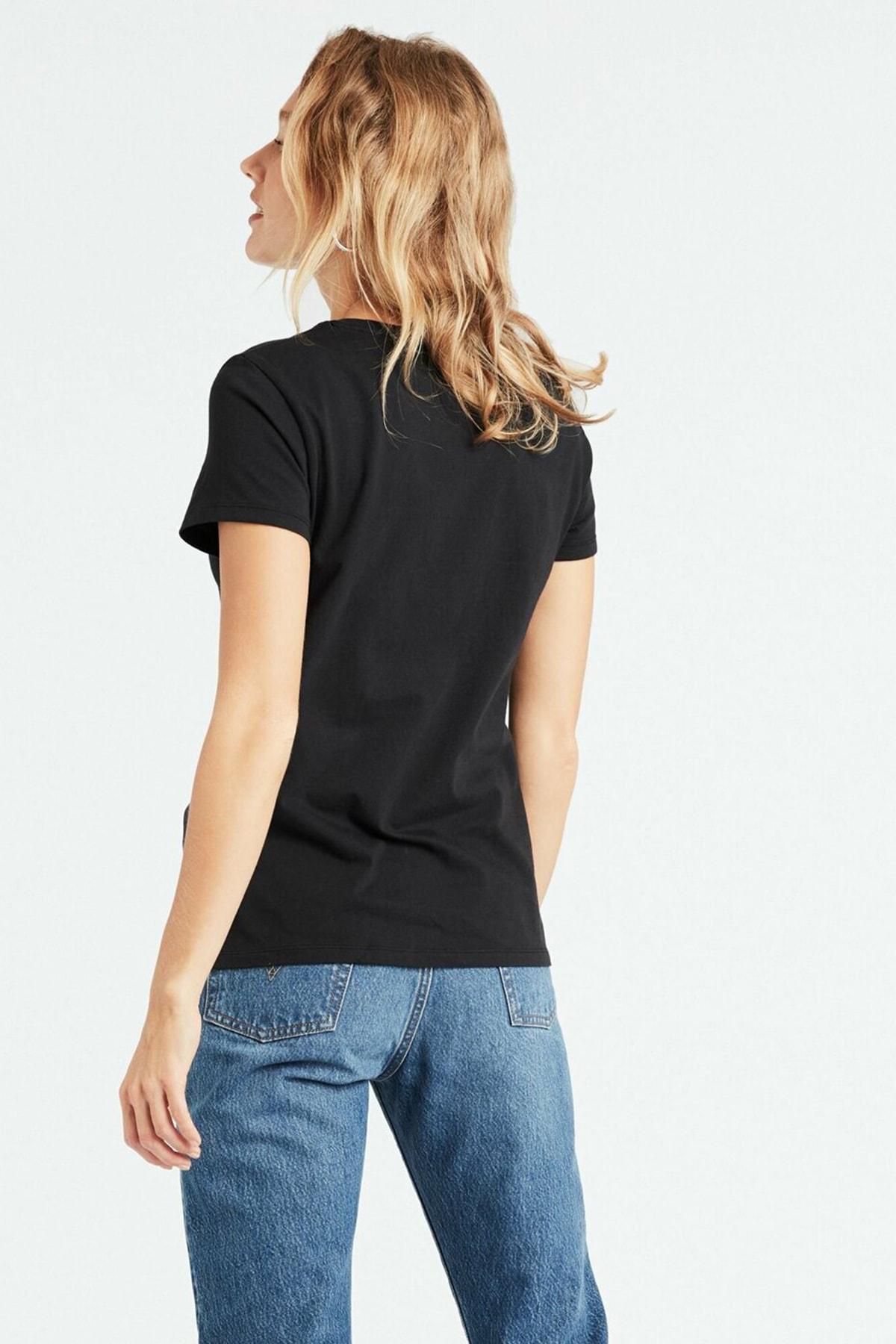 Levi's Kadın Siyah Perfect T-Shirt 39185-0008 2