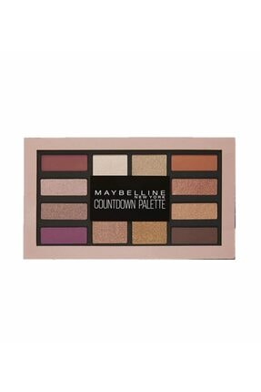 Maybelline New York Göz Farı Paleti - Countdown Palette 01 Holiday