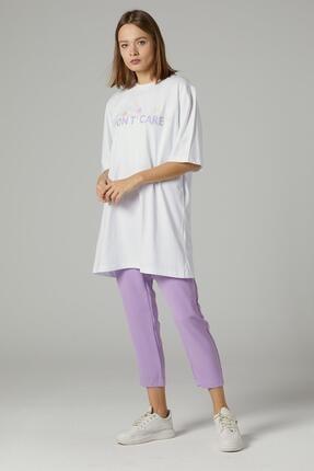Loreen Kadın Ekru Tshirt 30490-52