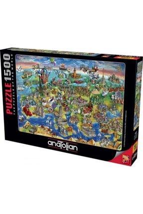 Anatolıan Avrupa Haritası European World 1500 Parça Puzzle - Yapboz
