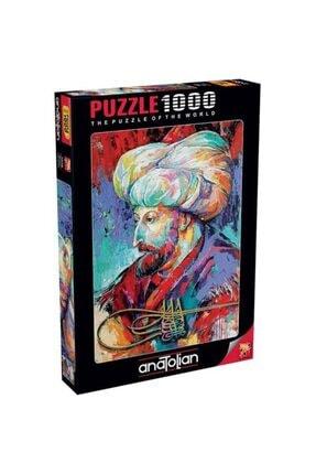 Anatolıan Anatolian Puzzle Fatih Sultan Mehmet 1000 Parça 1078
