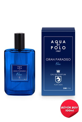 Aqua Di Polo 1987 Aynı Butikte 2. Ürün 1 TL Blue Edp 100 ml Erkek Parfüm  8682367054623