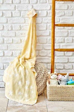 Karaca Home Baby Star Sarı Bebek Pikesi