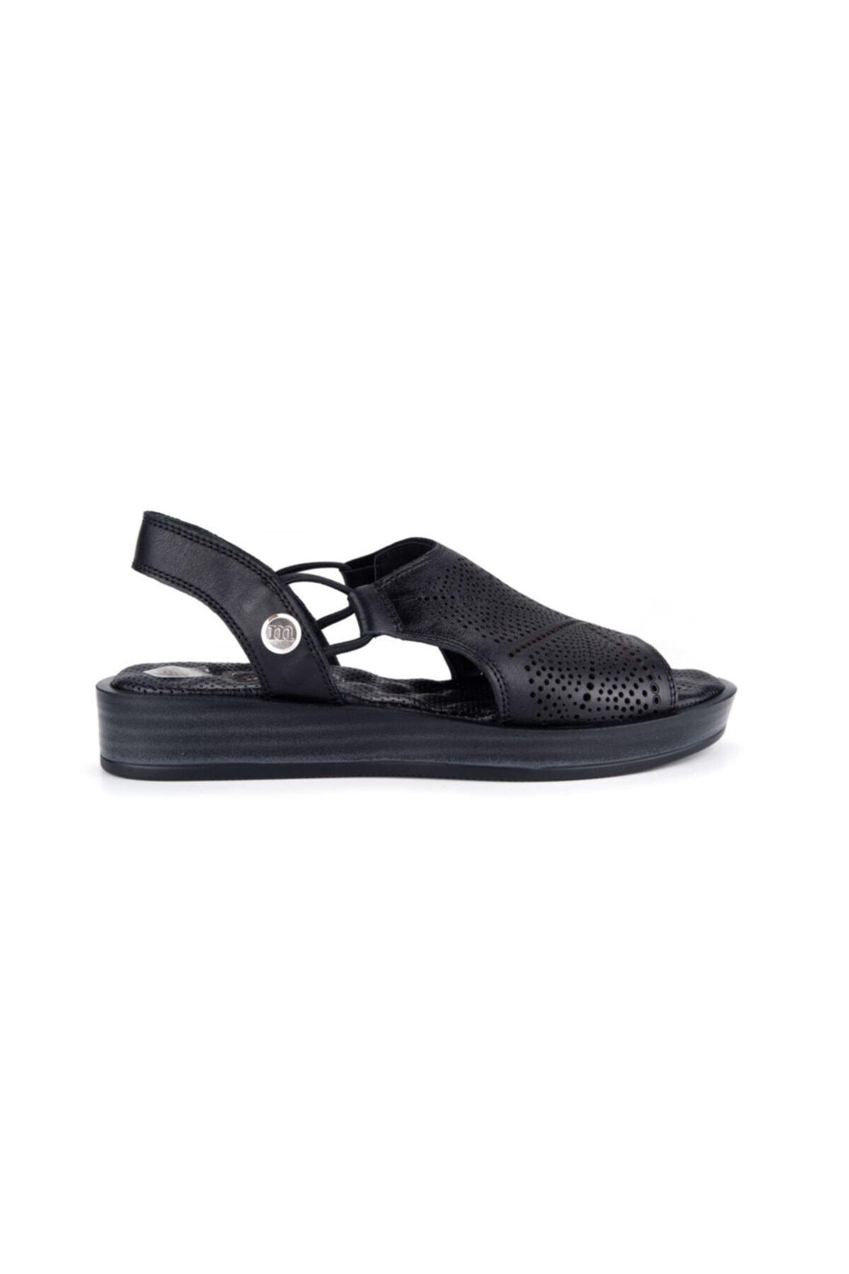 Mammamia Kadın Siyah Sandalet S1640 1
