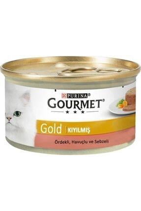 Purina Gourmet Gold Kıyılmış Ördek&havuç&ıspanak Yaş Kedi Konservesi 85 Gr. X 24 Adet