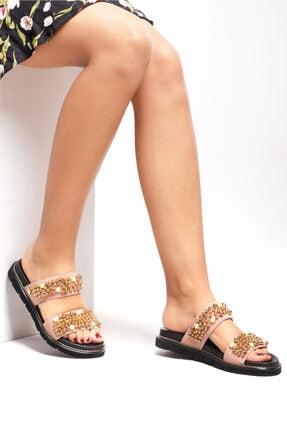 Ferre Kadın Pudra Sandalet