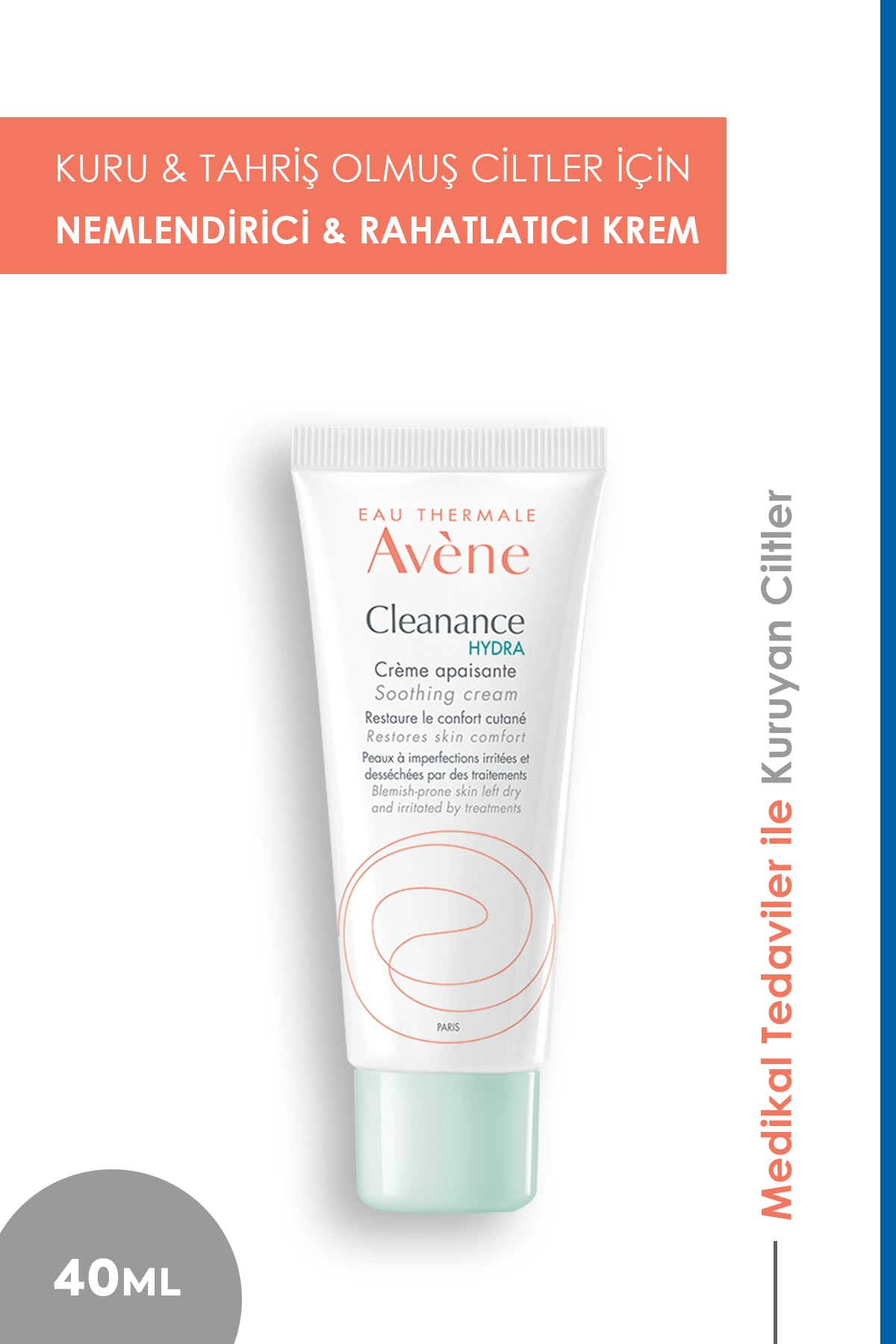 Avene Cleanance Hydra Cream 40ml 1