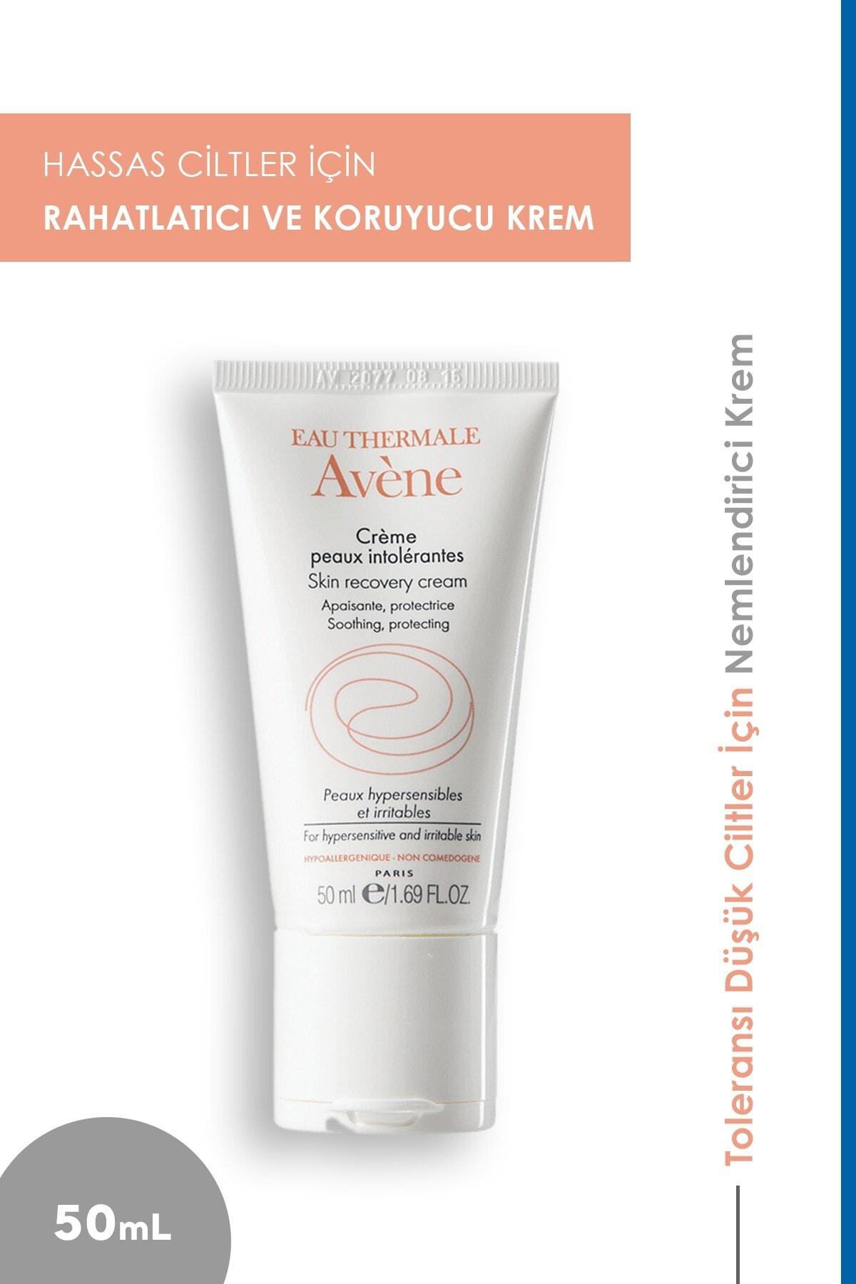 Avene Creme Peaux Intolerantes Skin Recovery Cream - Bakım Kremi 50ml 1