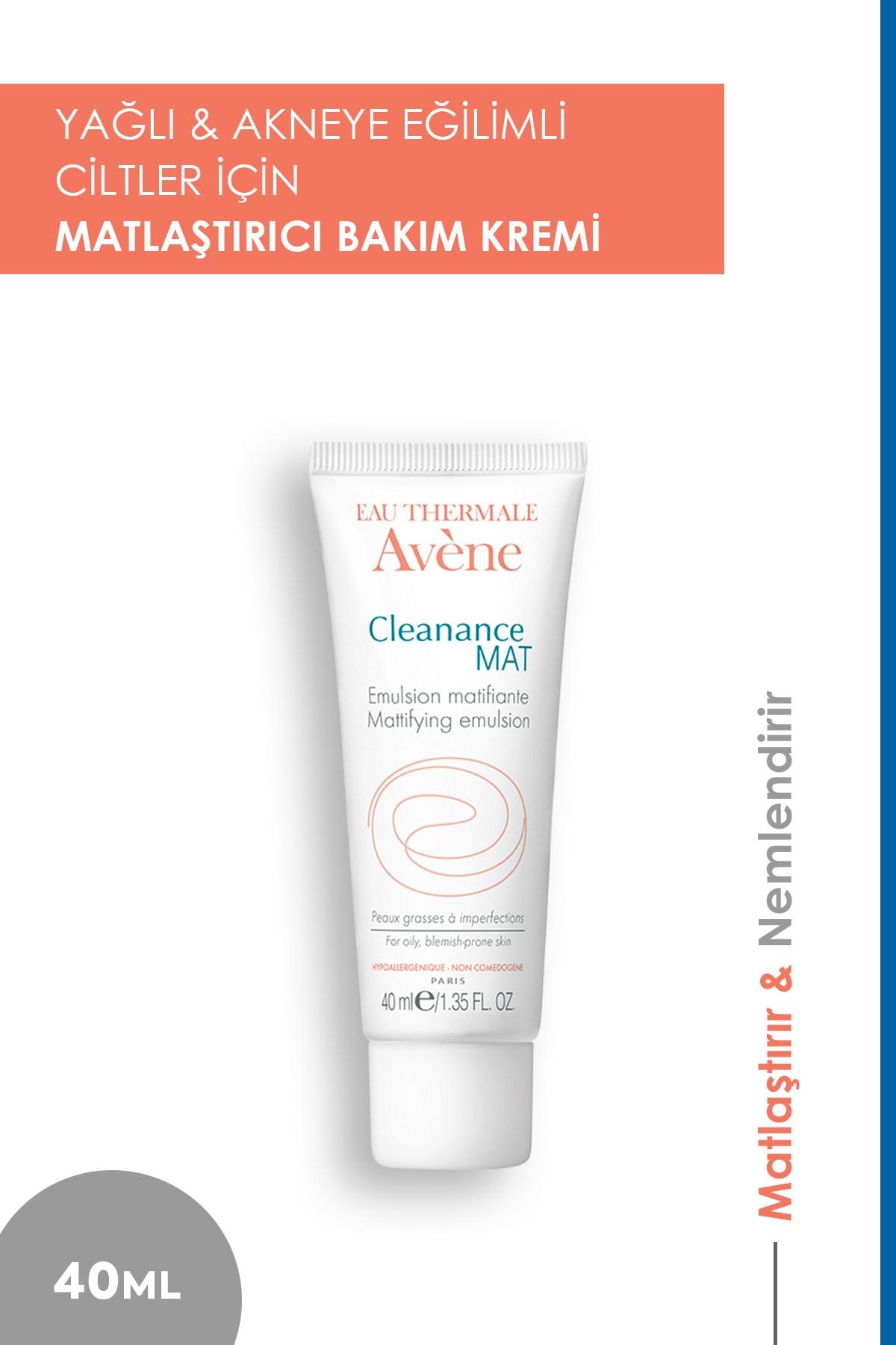 Avene Cleanance Mat Emulsion Matifiante 40 Ml - Yağlı Ciltler Için Nemlendirici Krem 1