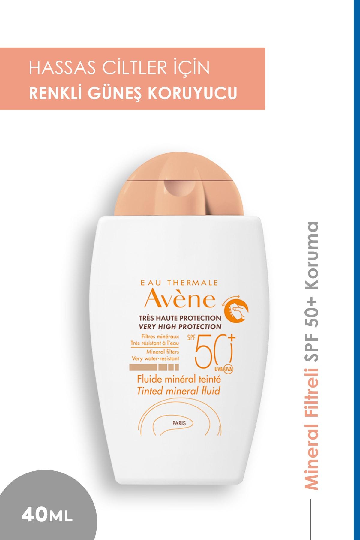 Avene Fluide Mineral Güneş Koruyucu Renkli Krem Spf50 40 ml 1