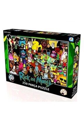 LAÇO KİDS Rick And Morty 250 Parça Puzzle