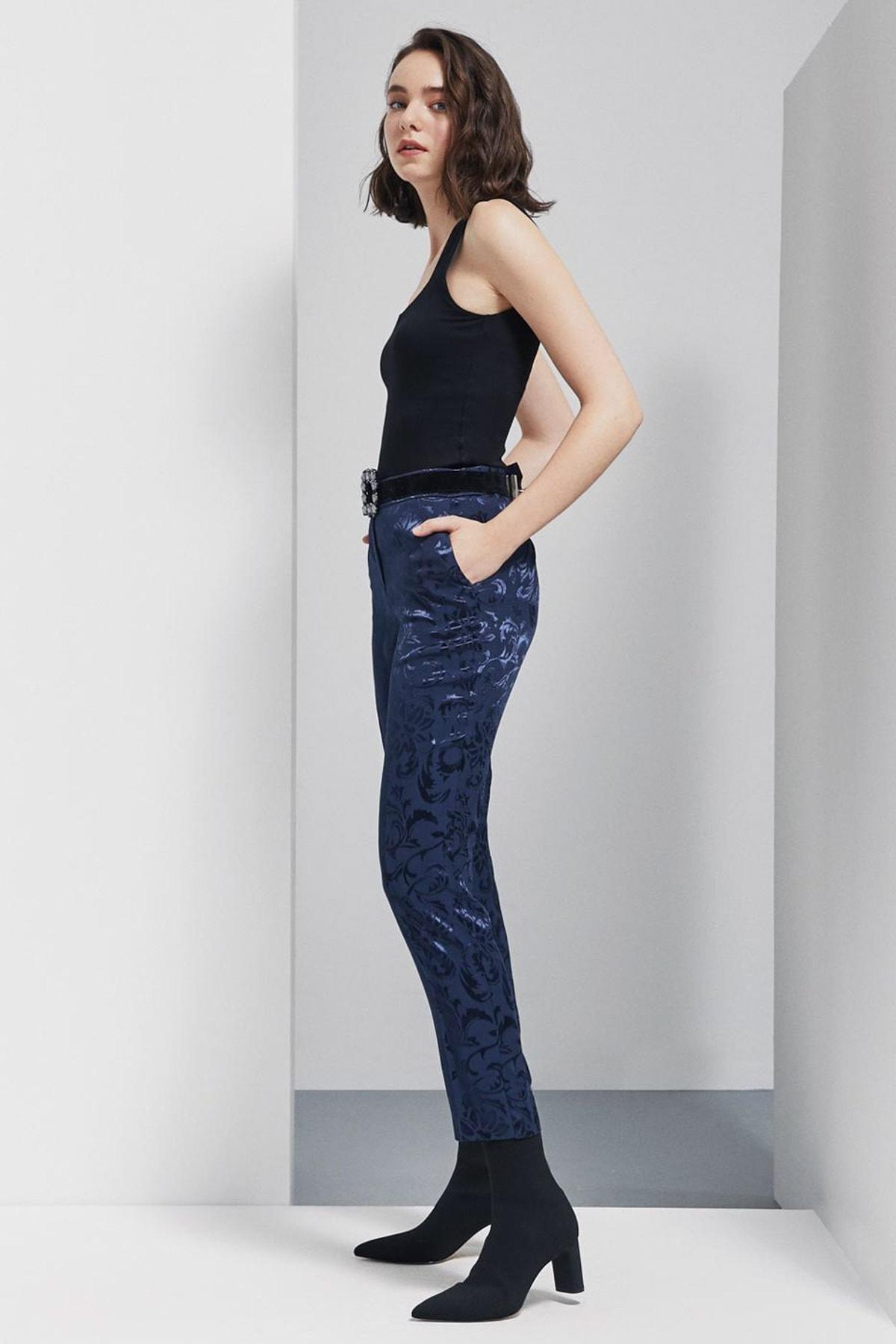 Perspective Kadın Lacivert Pantolon 92051113|339 2