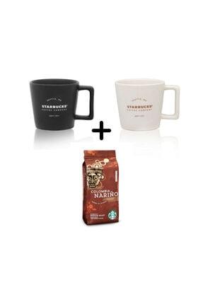 Starbucks Filtre Kahve Fincanı Seti Colombia Çekirdek Filtre Kahve 250 gr