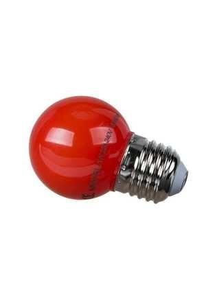 MAKEL 1w Gece Lambası Ampul - Kırmızı Renk