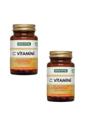 Aksu Vital C Vitamini 1250mg 60 Tablet X 2 Adet