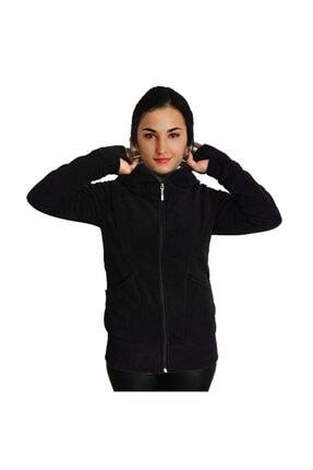 Armadillos Kadın Eldivenli Polar Sweatshirt Hırka