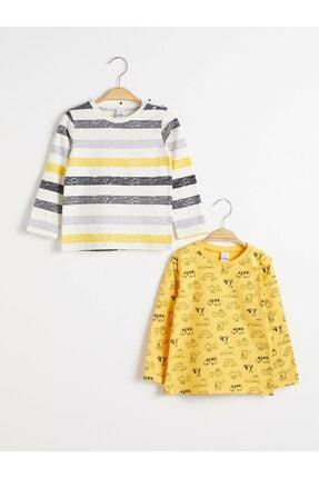 LC Waikiki Erkek Çocuk Sarı Tişört