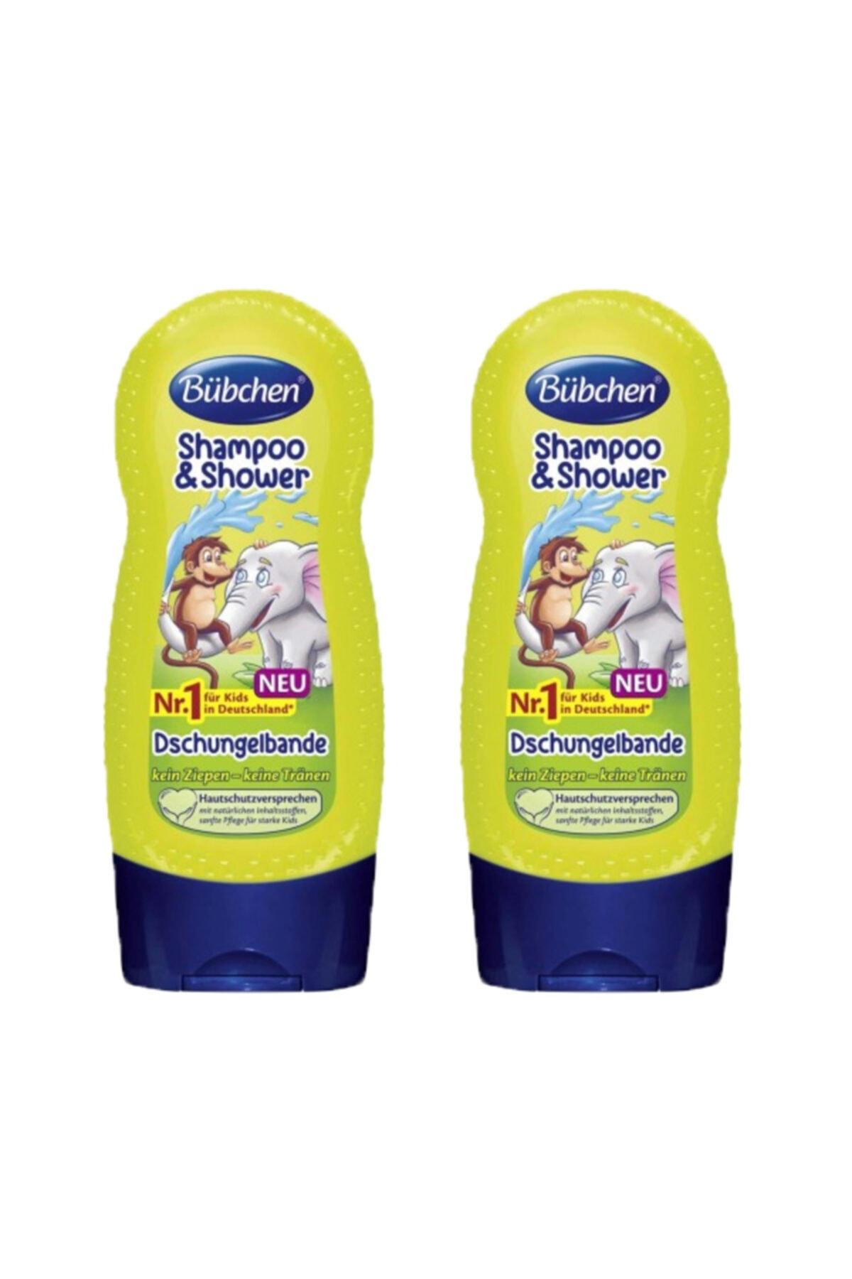 Bübchen Tropik Orman Çocuk Şampuanı ve Duş Jeli 230 ml X 2 Adet 1