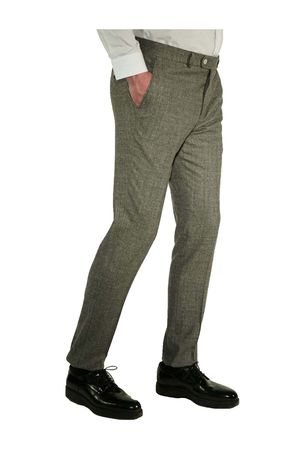 İgs Erkek Gri Slim Fit Exclusive Pantolon 2