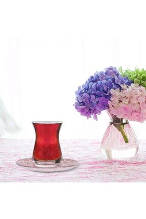 Karaca Zena 12 Parça Çay Seti Pembe