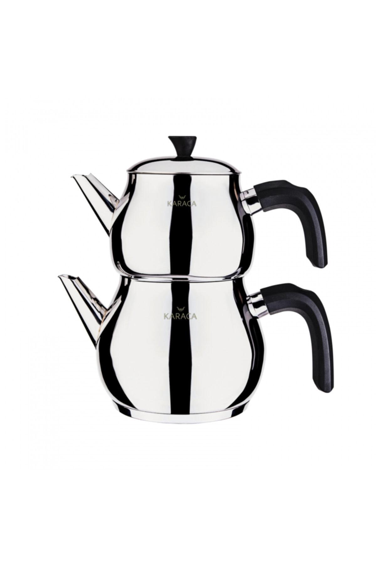 Karaca Kayra Black Çaydanlık Takımı 1