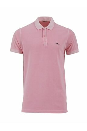 Ltb Erkek  Pembe Polo Yaka T-Shirt 012208454160890000